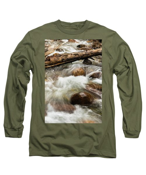 Long Sleeve T-Shirt featuring the photograph Water Under The Bridge by Alex Lapidus