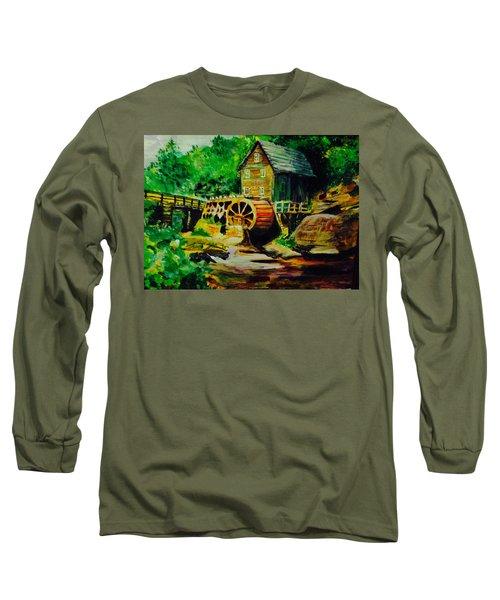 Water Wheel Long Sleeve T-Shirt