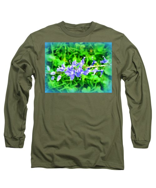 Watercolor Blooms Long Sleeve T-Shirt