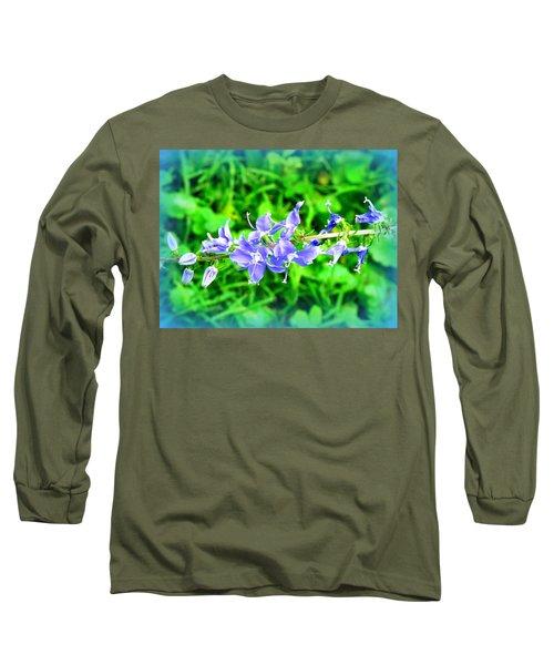 Watercolor Blooms Long Sleeve T-Shirt