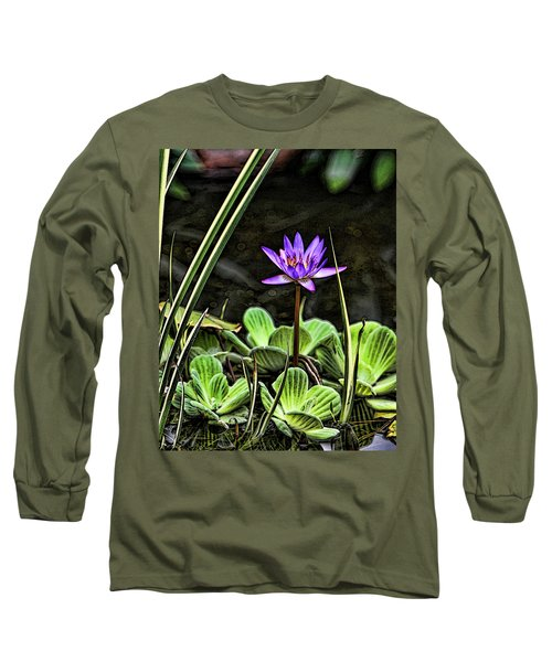 Watercolor Lily Long Sleeve T-Shirt