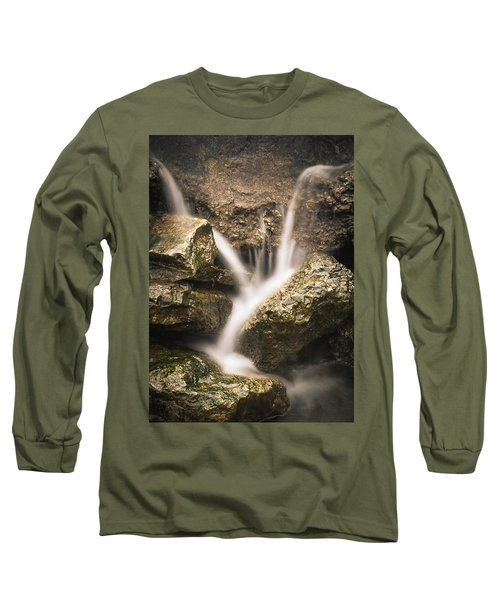 Waterfall Detail  Long Sleeve T-Shirt by Scott Meyer
