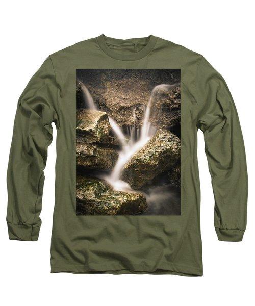 Waterfall Detail  Long Sleeve T-Shirt