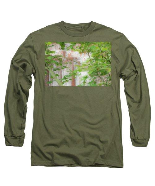 Waterfall, Portland Long Sleeve T-Shirt