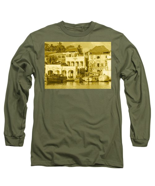 Waterfront Long Sleeve T-Shirt by Patrick Kain