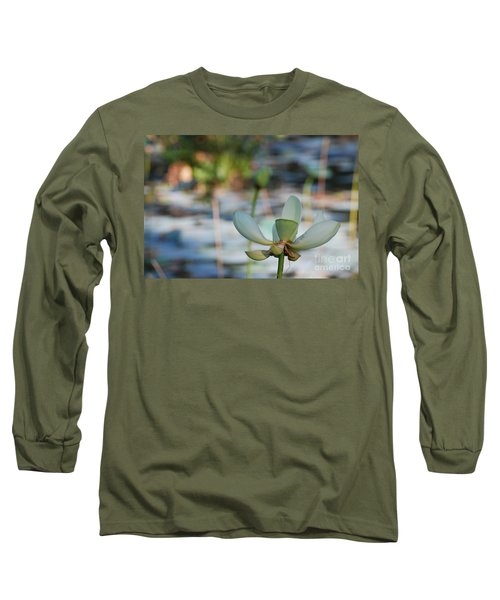 Waterlily Wash Horizontal Long Sleeve T-Shirt