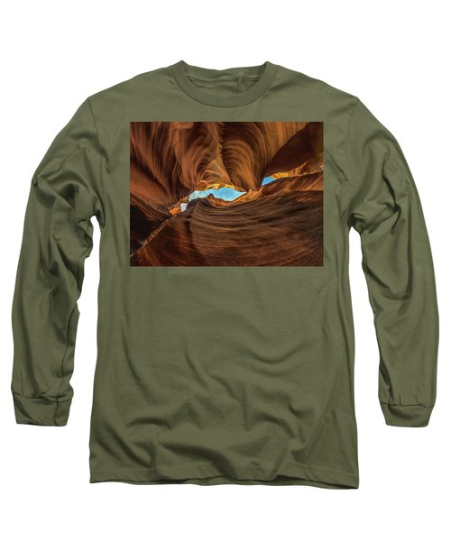 Wavy Long Sleeve T-Shirt