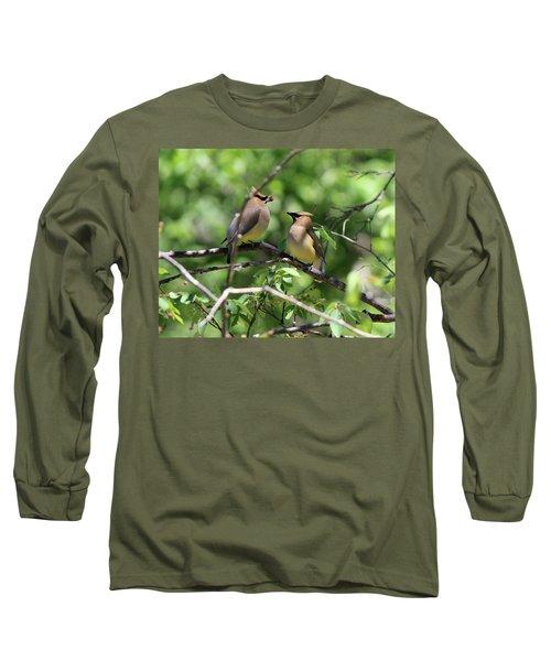 Waxwing Socialism Long Sleeve T-Shirt