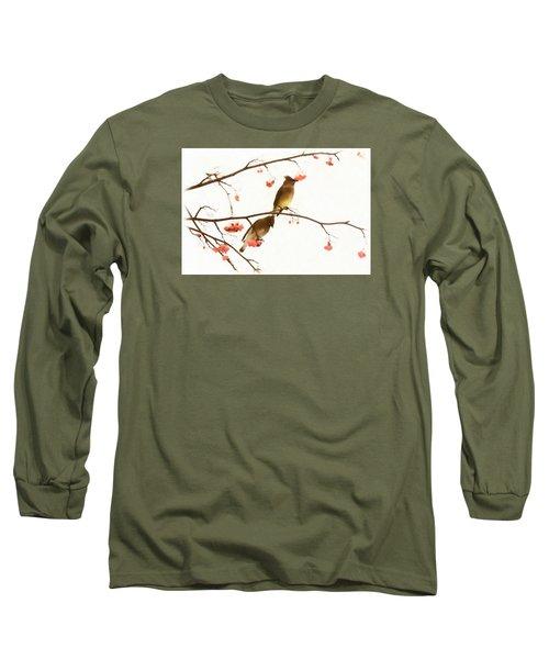 Waxwing Wonders Long Sleeve T-Shirt