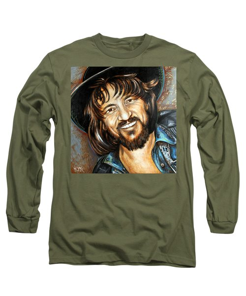 Waylon Jennings Long Sleeve T-Shirt