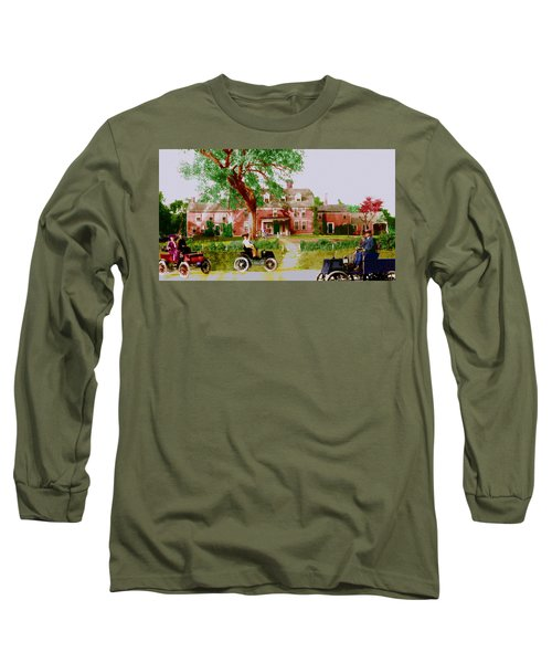 Wayside Inn With Autos Long Sleeve T-Shirt