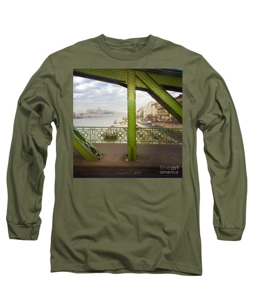 We Live In Budapest #4 Long Sleeve T-Shirt