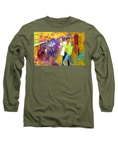 We Tangoed On The Piazza Navono Long Sleeve T-Shirt