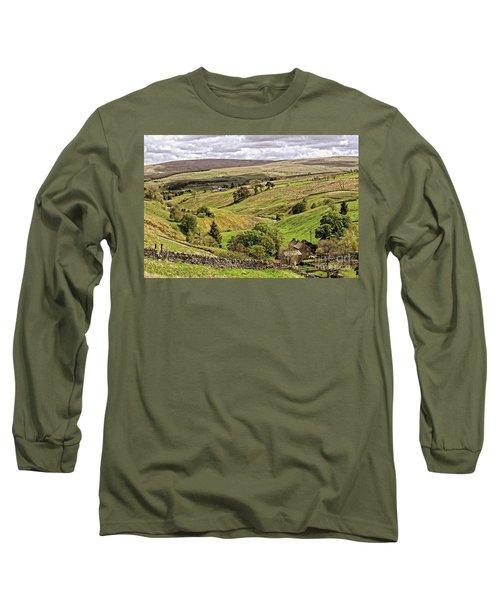 Weardale Landscape Long Sleeve T-Shirt