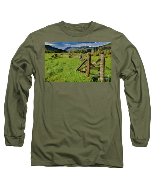 Weathered But Standing Long Sleeve T-Shirt