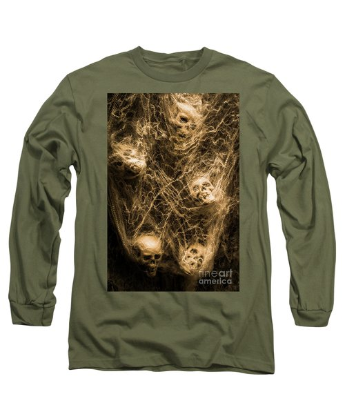 Web Of Entrapment Long Sleeve T-Shirt