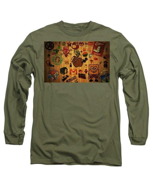 Web Long Sleeve T-Shirt