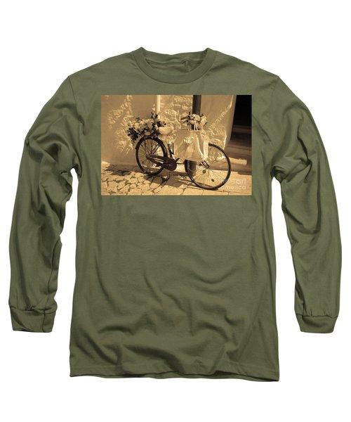 Wedding Bike Long Sleeve T-Shirt