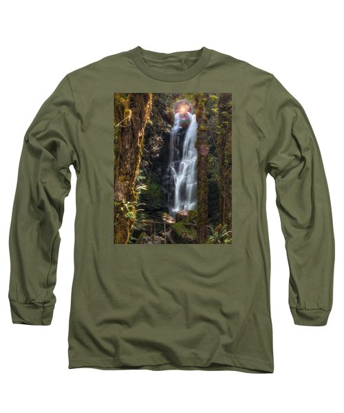 Weeping Angel Long Sleeve T-Shirt by James Heckt