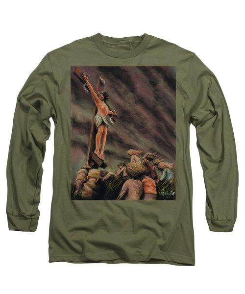 Weeping Children Long Sleeve T-Shirt