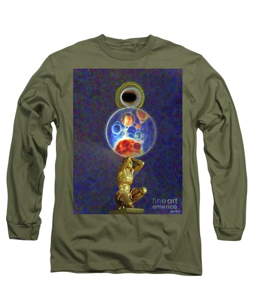 Weight Of The World Long Sleeve T-Shirt