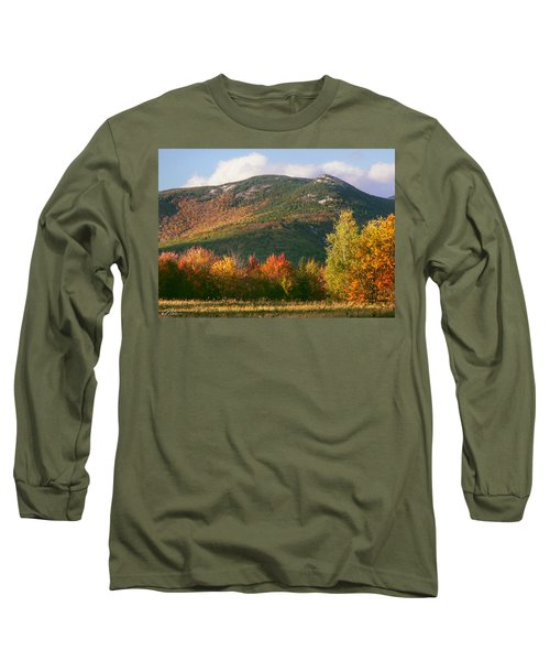 Welch And Dickey Mountains Long Sleeve T-Shirt by Nancy Griswold