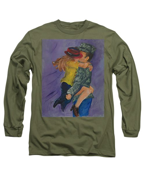 Welcome Home Long Sleeve T-Shirt by Terri Einer