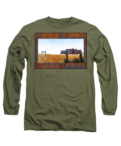 Welcome To Portage Population-6 Long Sleeve T-Shirt
