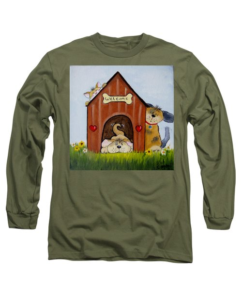 Welcome To The Doghouse Long Sleeve T-Shirt