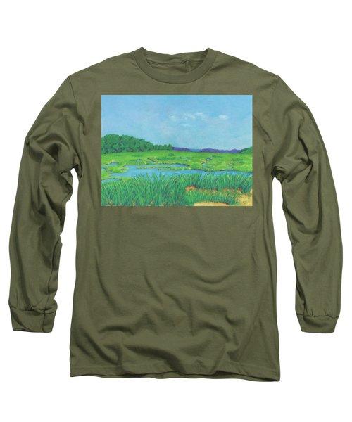 Wellfleet Wetlands Long Sleeve T-Shirt