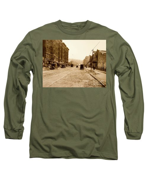 West 207th Street, 1928 Long Sleeve T-Shirt