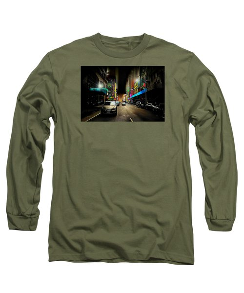 West 46th St. Long Sleeve T-Shirt by Diana Angstadt