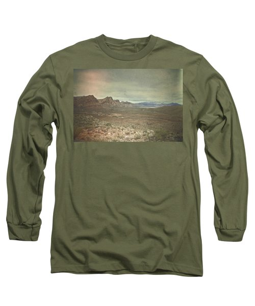 Long Sleeve T-Shirt featuring the photograph West by Mark Ross