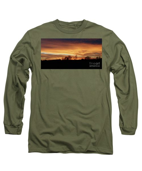 Western Sky December 2015 Long Sleeve T-Shirt