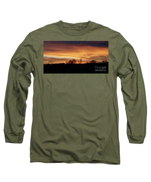 Western Sky December 2015 Long Sleeve T-Shirt