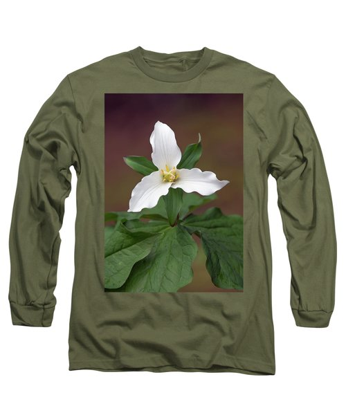 Western Trillium Long Sleeve T-Shirt