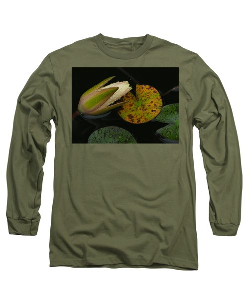 Wet Lily Long Sleeve T-Shirt by Farol Tomson