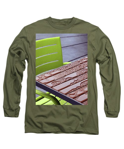 Wet Table Long Sleeve T-Shirt by Christopher McKenzie