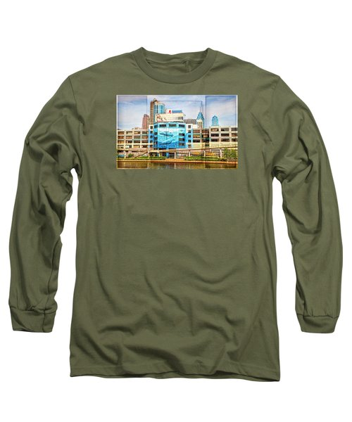 Whales In The City Long Sleeve T-Shirt
