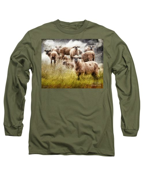 What You Lookin' At? Long Sleeve T-Shirt