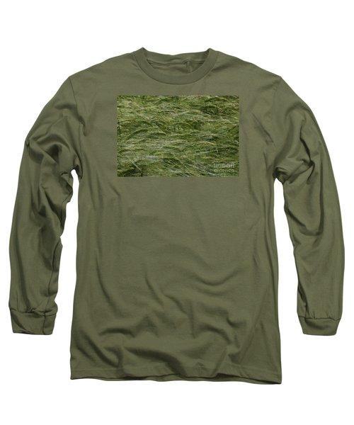 Long Sleeve T-Shirt featuring the photograph Wheat Field by Jean Bernard Roussilhe