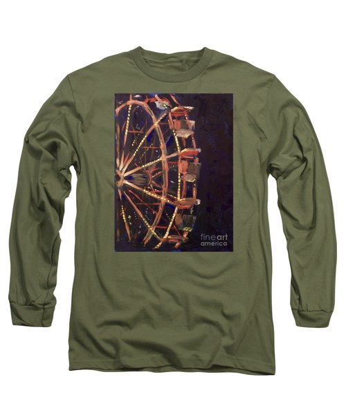 Wheel Long Sleeve T-Shirt by Joseph A Langley
