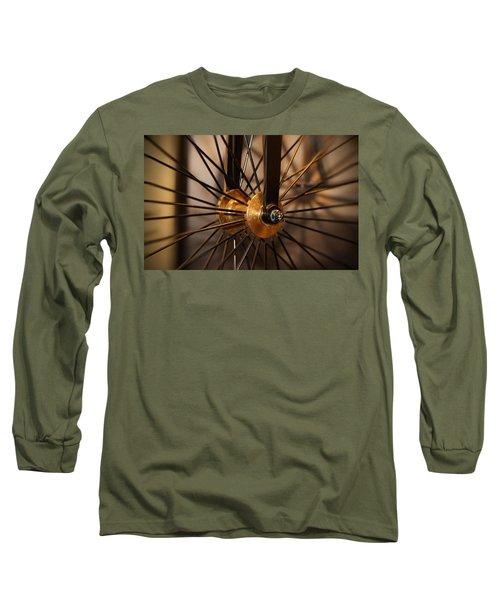 Wheel Spokes  Long Sleeve T-Shirt
