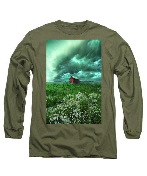 When The Thunder Rolls Long Sleeve T-Shirt
