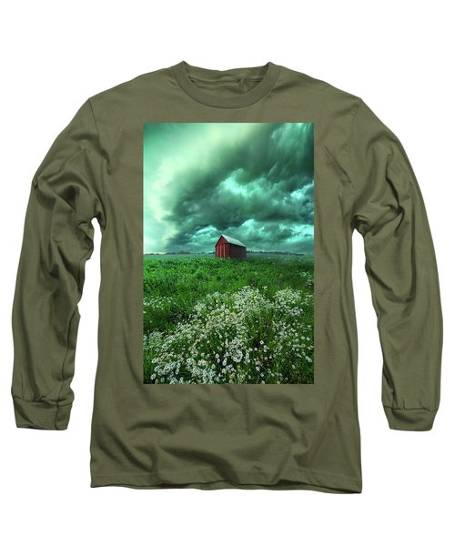 Long Sleeve T-Shirt featuring the photograph When The Thunder Rolls by Phil Koch