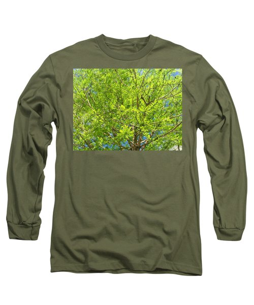 Where All The Green Things Are Long Sleeve T-Shirt