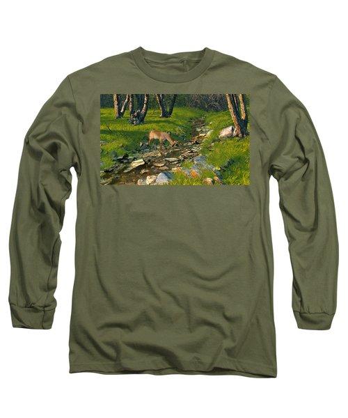 Where The Buck Stops Long Sleeve T-Shirt