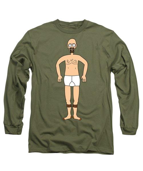 Wheres Walter Fugue State Breaking Bad Heisenberg Long Sleeve T-Shirt