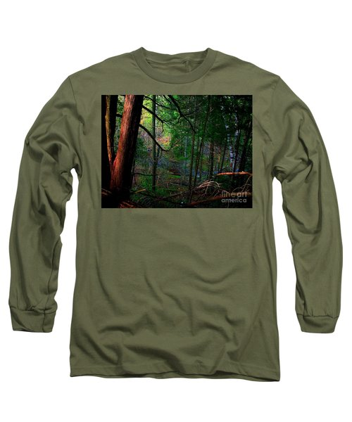 Long Sleeve T-Shirt featuring the photograph Whisperings by Elfriede Fulda