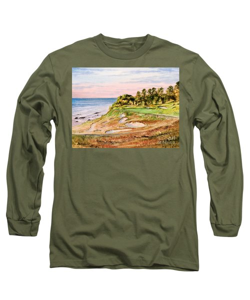 Whistling Straits Golf Course 17th Hole Long Sleeve T-Shirt by Bill Holkham